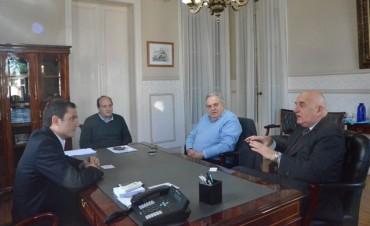 El Intendente recibió la visita del Vicecónsul Honorario de Italia