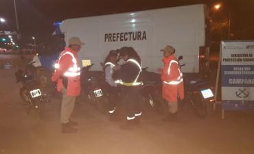 Secuestran 23 motos en un importante operativo de seguridad