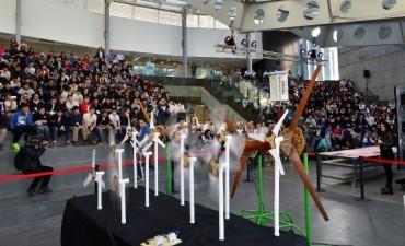 Tecnoaventura desafió los conocimientos y habilidades de 300 estudiantes técnicos de la región