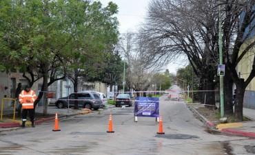 San Martín entre Estrada y Alberdi permanecerá cerrada al tránsito