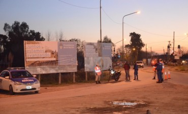 Seguridad: Campana y Zárate realizan operativos conjuntos en la Ruta 6