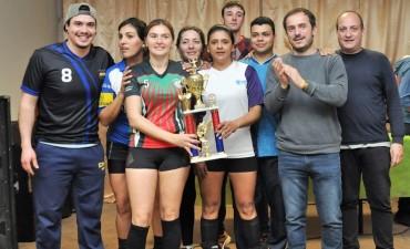 Abella y Roses acompañaron a deportistas de la zona