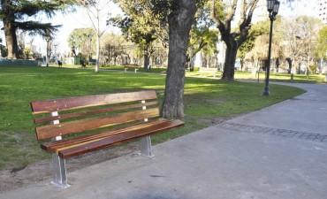 El Municipio realiza trabajos de embellecimiento en el casco urbano