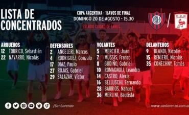 Concentrados para enfrentar a Deportivo Moròn