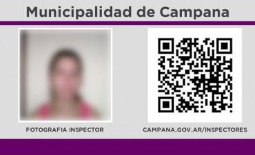 Los inspectores municipales cuentan con una nueva identificación