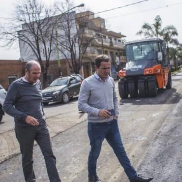 Culmina la primera etapa de la repavimentación de la avenida Varela