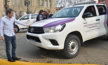 El Municipio sumó nuevos vehículos para reforzar los controles de tránsito
