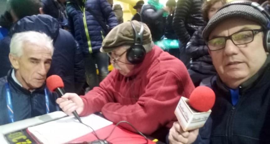 """Jorge """"Chino"""" Benítez en la previa de Boca Juniors vs Libertad de Paraguay"""