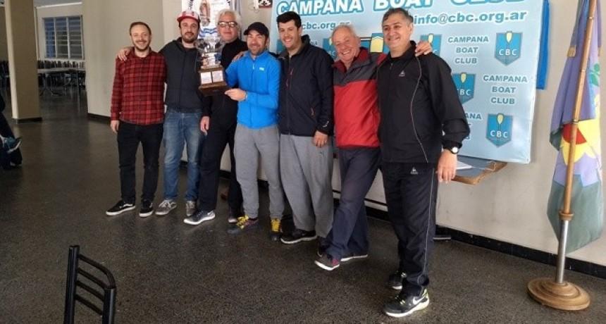 Se disputó en aguas campanenses del Paraná la Regata de Dobles junto a la Copa Desafío Zarate