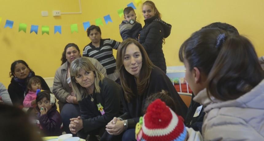 VIDAL REUNIÓ A SU GABINETE EN SAN MIGUEL Y VISITÓ UN CENTRO DE CONTENCIÓN, ESTIMULACIÓN Y EDUCACIÓN INFANTIL