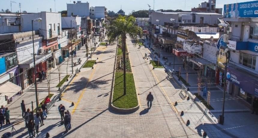 El Municipio inauguró la segunda cuadra de la nueva Rocca