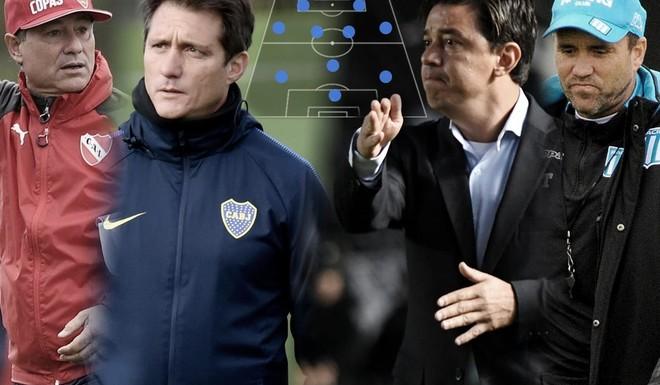 Como formarìan los equipos argentinos en el debut de la Copa