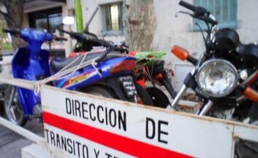 Tránsito Municipal secuestró otras 9 motos y labró 32 actas por infracciones