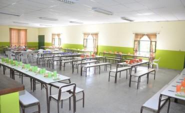 El Municipio reacondicionó el comedor de la Escuela Primaria N°4
