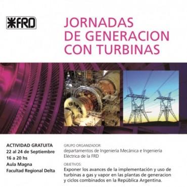 UTN-FRD invita a participar de las Jornadas de Generación con Turbinas.