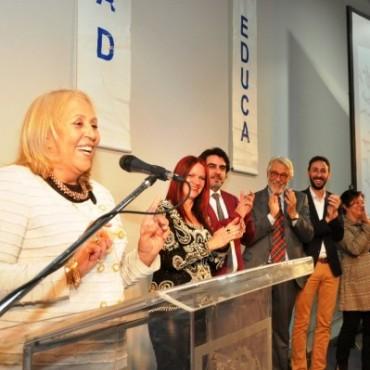 La Intendente Municipal Stella Maris Giroldi inauguró la Escuela de Arte de Campana