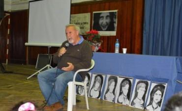 """Pablo Díaz visitó Campana en el marco de la conmemoración del 39º Aniversario de la """"Noche de los Lápices"""""""