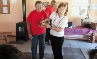 Se postergò para el 10 de setiembre el Curso de primeros auxilios de la Cruz Roja