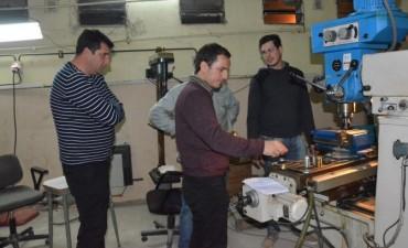 El Intendente visitó el Centro de Formación Laboral N° 401