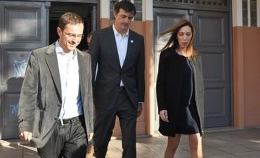 Vidal recibe a Abella con el eje en la seguridad y el funcionamiento de la justicia