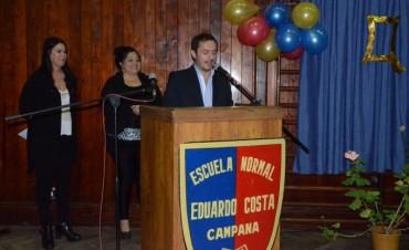 El Intendente participó de la celebración del 99º aniversario de la Escuela Normal