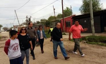 Concejales del Frente Renovador junto a la Agrupación 14 de Mayo recogieron reclamos vecinales en La Josefa