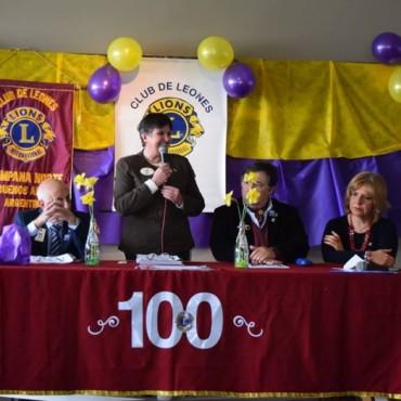 Emotiva entrega de la Carta Constitutiva al Club de Leones Campana Norte