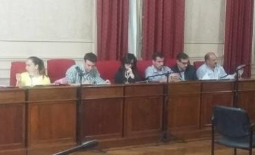 Sesión ordinaria del Honorable Concejo Deliberante