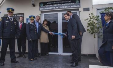 El Intendente participó de la inauguración del Departamento Operativo Antidrogas Campana