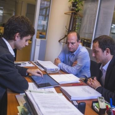 Rotonda de Mc Donald's: el Intendente se reunió con Vialidad Nacional para avanzar con el proyecto