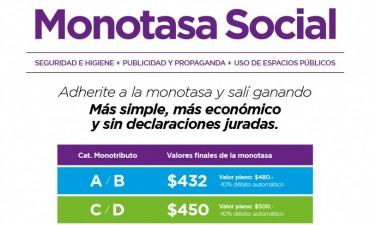 Sigue abierta la inscripción para la Monotasa Social