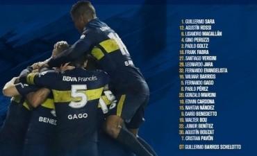 Convocados de Boca Juniors para recibir a Godoy Cruz