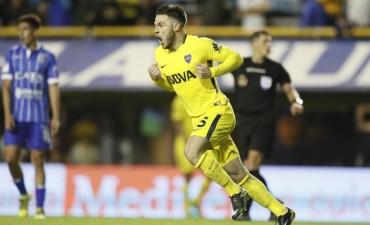 Boca Juniors derrotó a Godoy Cruz 4 a 1
