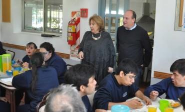 Sergio Roses comprometió su apoyo a los futuros proyectos de APID
