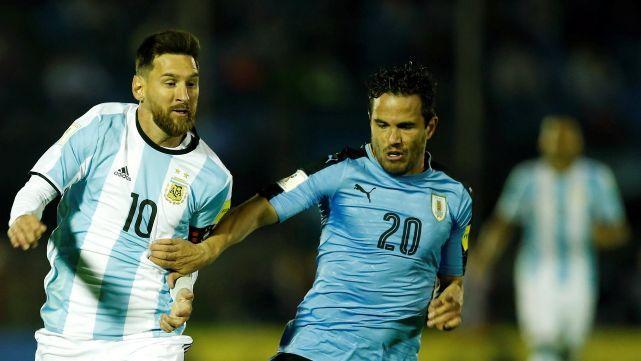 Argentina empató con Uruguay 1 a 1