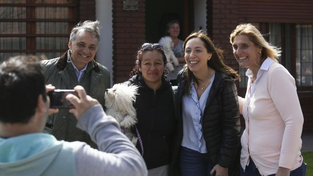 Macri y Vidal encabezaron la largada de la campaña