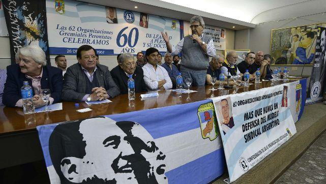 Queremos volver a levantar las banderas de Evita y Perón