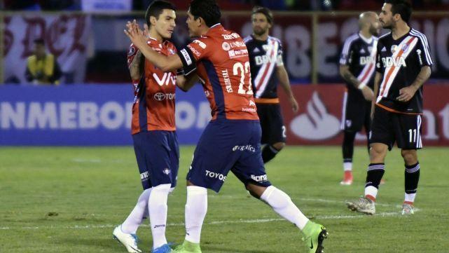 River Plate perdió con Jorge Wilstermann 3 a 0