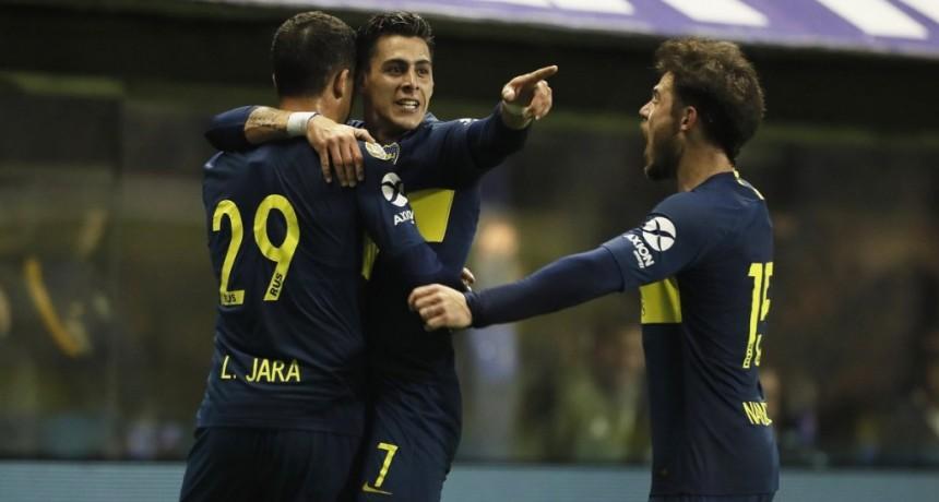 Boca Juniors derrotó a Vélez Sarsfield por 3 a 0
