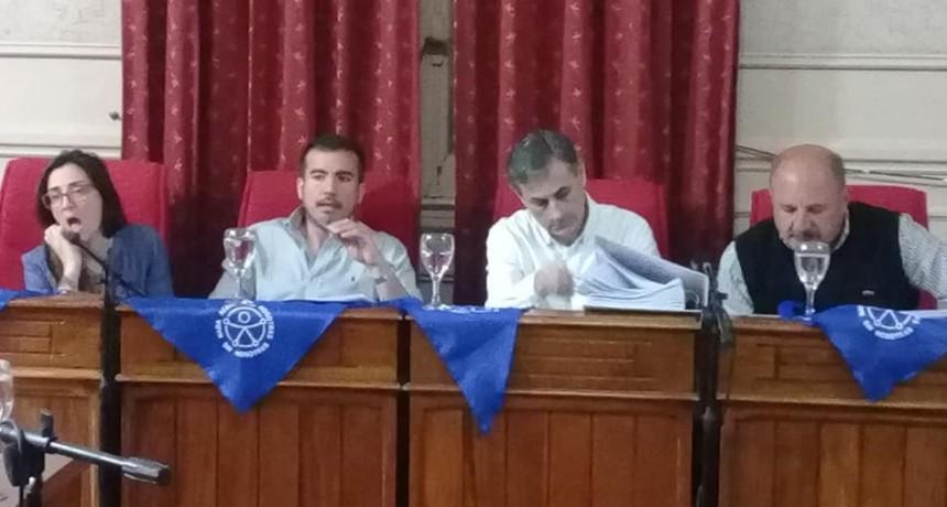 Se realizò la primera Sesiòn Ordinaria del Honorable Concejo Deliberante