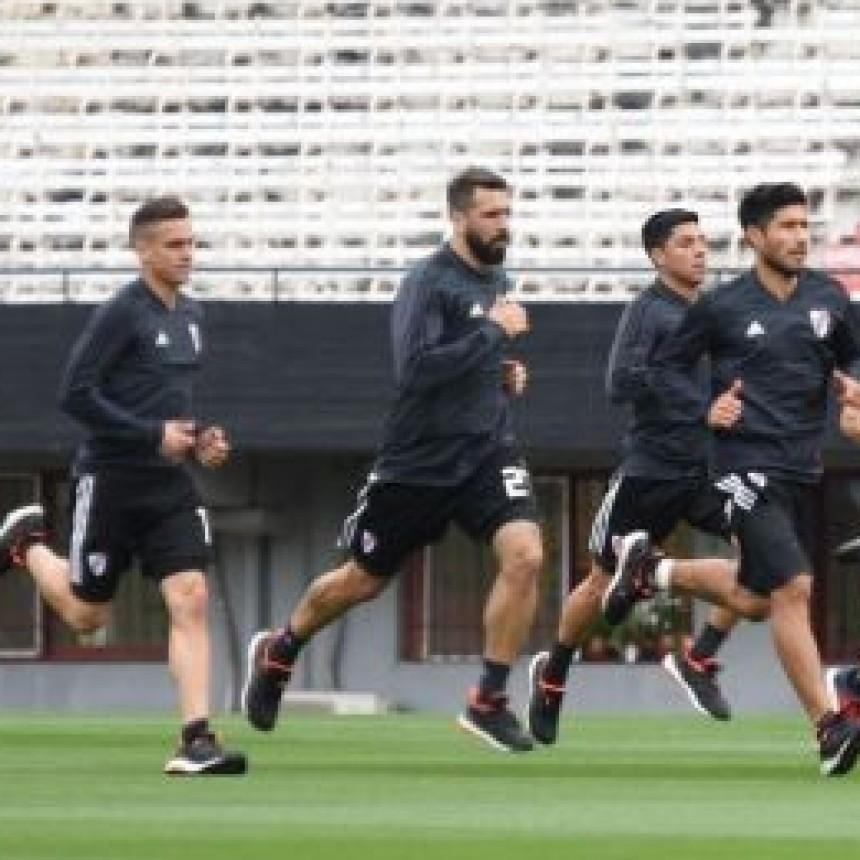 River Plate cierra su preparaciòn para enfrentar a Independiente