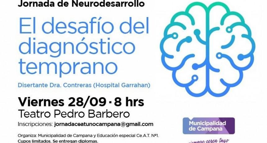 Se realizará una jornada gratuita sobre Neurodesarrollo