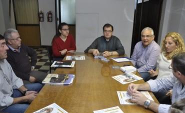 Autoridades Municipales y Religiosas coordinan la logística y realización de la 36° Peregrinación a Pie a Luján