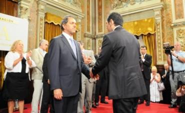 El Gobernador Scioli designó cinco nuevos magistrados para el Departamento Judicial de Zárate Campana