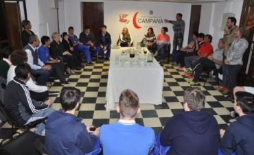 La Intendente Giroldi celebró junto a los ganadores de los Juegos BA