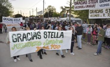 Vecinos del B° Del Pino celebraron las obras públicas de su barrio