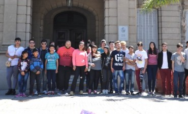 Jóvenes de Campana viajaron a Tecnópolis