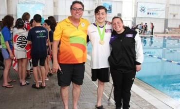 Juegos Bonaerenses: llegaron las medallas doradas en Atletismo y Natación para Campana