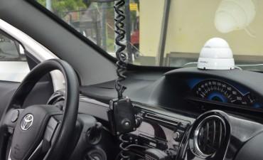 El Municipio instaló cámaras dentro de los móviles de la Policía Local