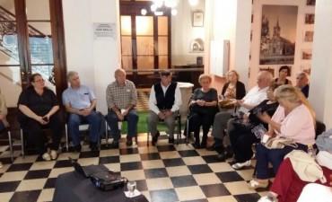 """Vecinos de la ciudad participaron del primer encuentro de """"Envejeciendo positivamente"""""""